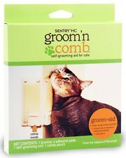 Sentry HC Groom 'N Comb SelfGrooming Aid with Catnip for Cats