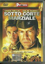 DVD Sotto corte marziale. Bruce Willis, Colin Farrell
