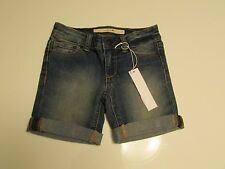 NWT.AUTHENTIC Girls Boys  joe's Jeans Denim Easy Rolled Shorts Ava Size 4