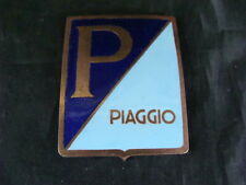 VESPA EMBLEMA SCUDO PIAGGIO 150 GS SMALTO OLD EMBLEMS SCOOTER MADE IN ITALY