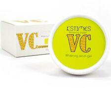 Whitening Serum Gel with Vitamin C Brighten Skin tone Hydrates Spot removal