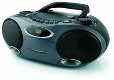 Memorex MP4907BK CD/MP3 Portable BoomBox with Cassette and AM/FM Radio (PL1-3009