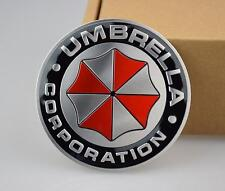 Resident Evil -Umbrella corporation Metal 3D Car Badge Emblem sticker -UK Seller
