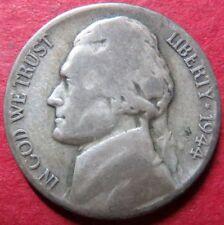 *SILVER 1944-D  JEFFERSON  NICKEL, Emergency WW II  Denver SILVER Mint Coin  #5