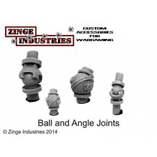 Zinge Industries Ball & Socket Joint Set 2x Styrene Tubes 160mm Length 5.5 BLJ02