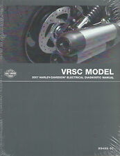 Harley-Davidson 2007 VRSC Models Electrical Diagnostic Manual  P/N 99499-07