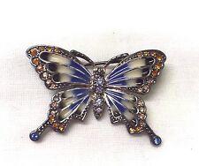 Vintage Firmado Monet Mariposa Broche Pin