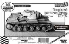KV-1K SOVIET HEAVY ROCKET TANK, PLASTIC/RESIN 1/72 ZEBRANO SEA005