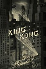 NEW King Kong City print - Jonathan Burton - 100% SOLD OUT - CHEAPEST ONLINE!