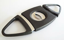 Pack of 3 Double Blades Guillotine Cigar Cutter Pocket Knife Scissors Stainless