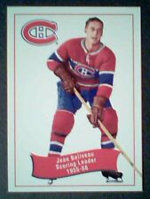 JEAN BELIVEAU 1955-56 SCORING LEADER  PARKHURST 56/57 AUTHENTIC REPRINT CARD