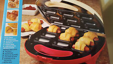 Nostalgia Electrics Pigs in a Blanket and Appetizer Bites Maker NEW in BOX
