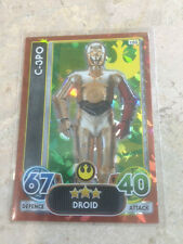 STAR WARS Force Awakens - Force Attax Extra Trading Card #103 C-3PO