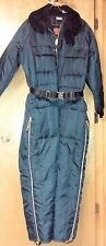 Vintage Walls Men XL Tall Insulated Coveralls Blizzard Pruf Snowmobile Snow Suit