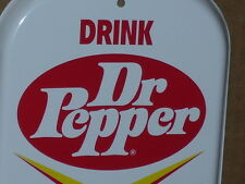 "DR PEPPER - Hot Or Cold --- 6"" Wide X 16"" Tall - Thermometer  --- UNUSED -- Nice"