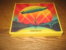 LED ZEPPELIN-CELEBRATION DAY 2CDDVD SET 2012 WARNER DIGIBOOK CARDBOARD SLEEVE
