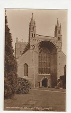 Tewkesbury Abbey West Front, Judges 13630 Postcard, A880