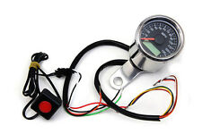 """2"""" Mini Electric Speedometer, EA,for Harley Davidson motorcycles,by V-Twin"""