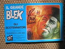 IL GRANDE BLEK 6 1976 GLI SCOTENNATORI EDIZIONI DARDO STRISCIA GIGANTE