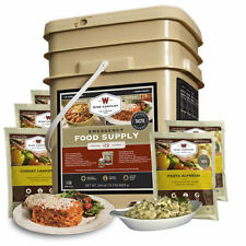 Wise Foods 120 Servings Entree only Meals Grab and Go Bucket Camping 01-120