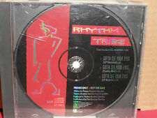 Rhythm Tribe - Gotta See Your Eyes PROMO CD Single with REMIX Rare