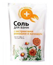 Badesalz, Meersalz mit Kamille und Calendula, Hausarzt, 500ml Соль для ванн