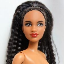 Barbie Fashionistas Doll #56 African American Short Brunette Brown eyes