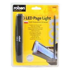 Rolson 61669 3 LED Page Reading Light Super Bright