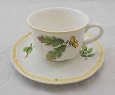 Villeroy & and Boch PARKLAND large breakfast cup and saucer