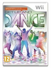 DISC ONLY GET UP and Dance (Wii) #G 14