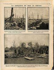 Soldats Poilus Combats du Bois-le-Prêtre/Paquebot Nouvelle Calédonia 1915 WWI