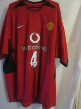 Seb Veron Signed Manchester United Home Football Shirt COA /22076