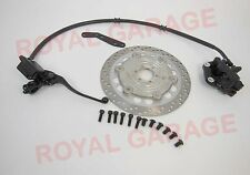 "FRONT DISC BRAKE KIT ASSEMBLY WITH DISC WHEEL 19"" FOR ROYAL  BIKES BSA 39"