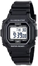 Mens Casio Classic White Rubber Resin Digital Sport Alarm Watch F108WHC-7B