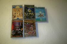 Vintage lot of 5 Iron Maiden cassette tape