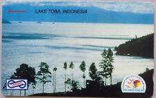 Malaysia Used Phone Cards - Lake Toba, Indonesia