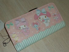 My Melody Kiss-clasp Clutch Wallet Purse mid long