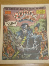 2000AD #516 BRITISH WEEKLY COMIC JUDGE DREDD *