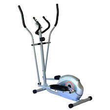 2 In 1 Elliptical Exercise Bike Trainer Cardio Workout Fitness Machine w/ LCD