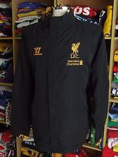 Jacket Liverpool FC (XL) Black Track Warrior Jacke Tracksuit Trainingsjacke