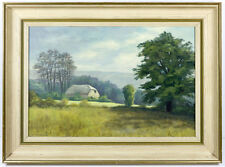 Norman Hailstone - Mid 20th Century Oil, Rackham Mill, West Sussex