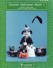 Halloween Book 1, Td Creations holiday crochet patterns