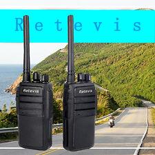 2pcs Walkie Talkie Retevis RT 21 2.5W UHF VOX Scrambler Radio bidirectionnelles