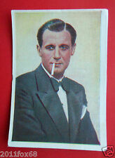 figurines actors acteurs nestle stars of the silver screen #124 tullio carminati