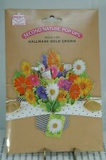 HALLMARK SECOND NATURE POP UPS MOTHER'S DAY CARD~NEW W/ENVELOPE~FREE US SHIP~I