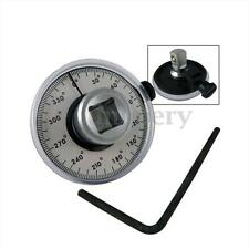 Professional Quality 1/2'' Drive Torque Angle Gauge Car Wrench Garage 360 Angle