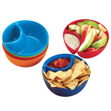 Chip And Dip Snack Bowls - Set Of 6