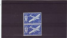 ST PIERRE ET MIQUELON - SG340 MNH 1942 AIR 25fr BLUE - PAIR