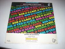 Bob & Carol & Ted & Alive Soundtrack LP Bell Quincy Jones Merrilee Rush SEALED
