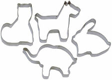 Animal Shaped Cutter Cat Dog Elephant Rabbit - Cookies Biscuits Pastry Icing